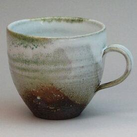萩焼 マグカップ彩 清玩作 化粧箱入 Japanese ceramic Hagi-ware. Sai mug cup made by seigan.
