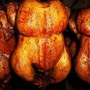 クリスマスチキン★無添加スモークチキン 1羽 丸ごと【取り寄せ】無薬で育てた広島産 鶏肉を使用した自家製スローフ…
