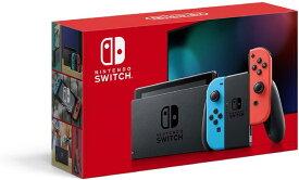 こどもの日 ニンテンドースイッチ 本体 Nintendo Switch (L)ネオンブルー/(R)ネオンレッド バッテリー強化版
