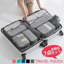 送料無料 スーツケース 整理 ポーチ スーツケース用 バッグオーガナイザー バッグインバッグ 収納バッグ 無地 メッシ…