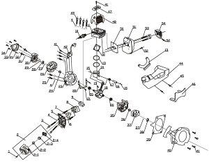 穴掘り機 エンジンオーガー DZ49・50用 イグニッションコイル HG-DZ4950-P42【パーツ エンジンドリル アースオーガー 穴掘り機 穴掘り器 0113flash 16 】