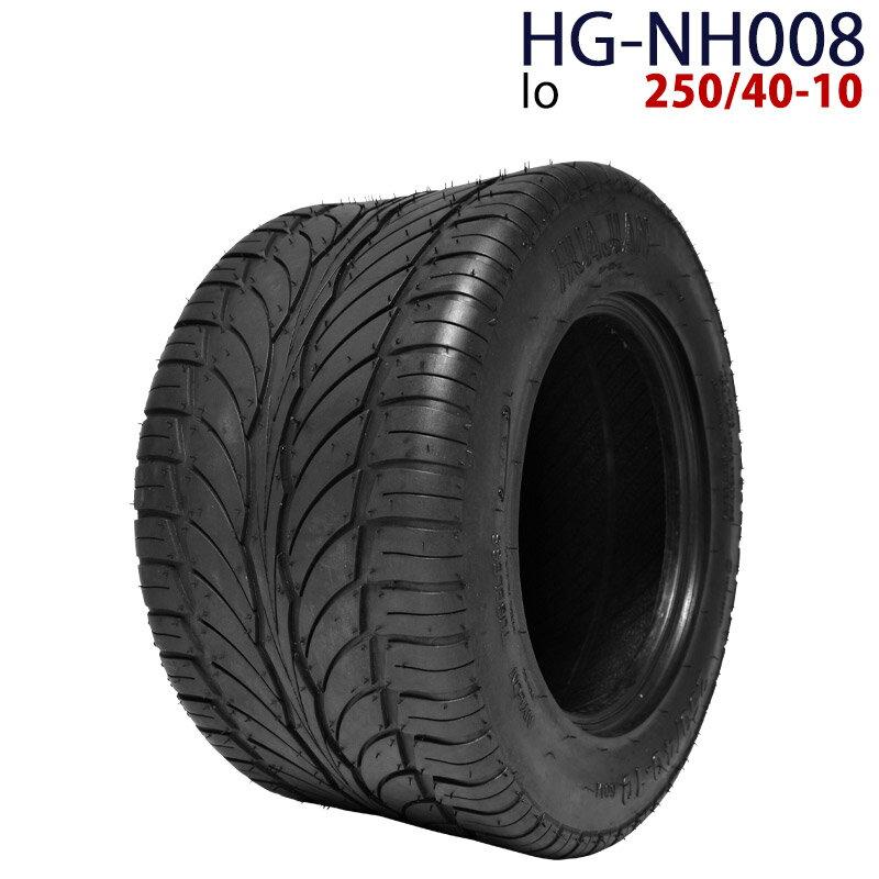 ポイント最大12倍! 四輪バギー ATV タイヤのみだけ 10インチ 250/40-10 HG-NH008 ハイガー産業 Io 0113flash 16 +