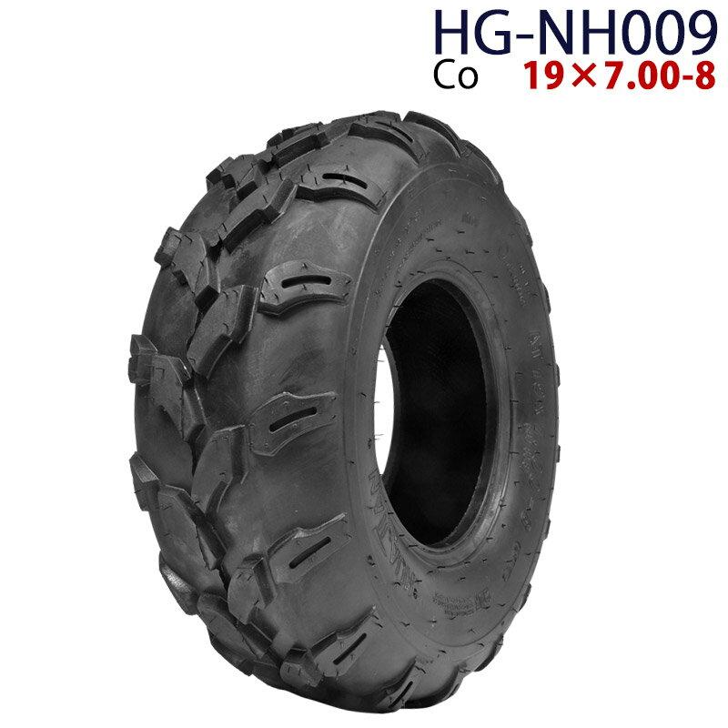 四輪バギー ATV タイヤのみだけ 8インチ 19×7.00-8 HG-NH009 ハイガー産業 Co 0113flash 16 +