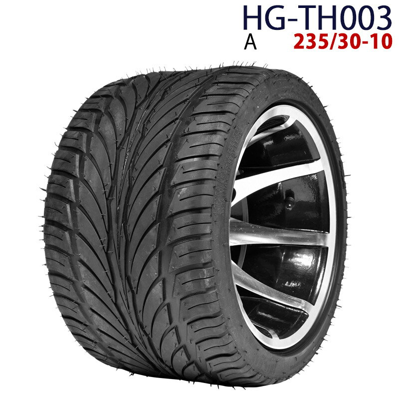 四輪バギー ATV ホイール付タイヤ 10インチ 23今日-10 HG-TH003 ハイガー産業 A 0113flash 16 +