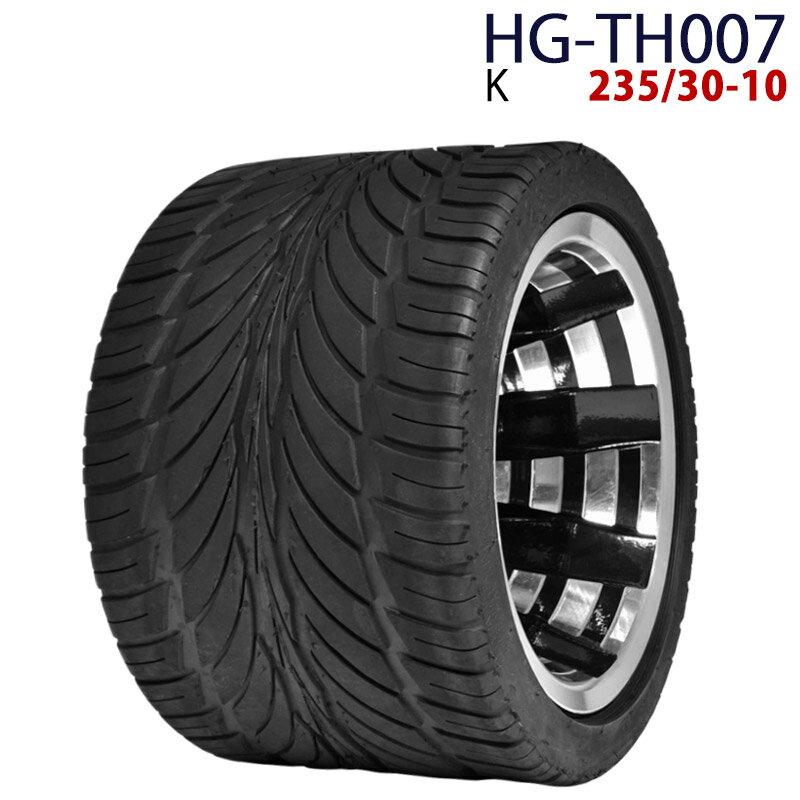 四輪バギー ATV ホイール付タイヤ 10インチ 235/30-10 HG-TH007 ハイガー産業 K 0113_flash 16