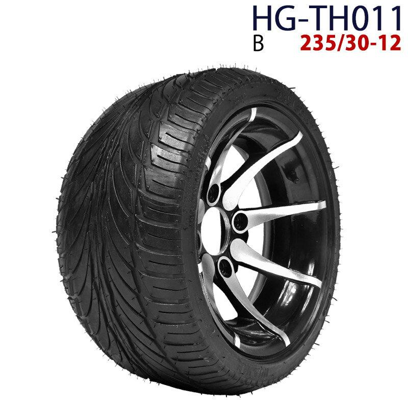 四輪バギー ATV ホイール付タイヤ 12インチ 23今日-12 HG-TH011 ハイガー産業 B 0113flash 16 +