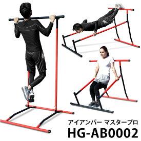 ぶら下がり健康器 マルチジム キャリステニクス マスタープロ チンニング 懸垂バー 懸垂 マシーン 懸垂マシン チンニング スタンド 背筋 腹筋 筋トレ トレーニング器具 健康機 HG-AB0002 チンニングスタンド