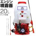 エンジン式 噴霧器 背負式 噴霧器 動噴 動力噴霧機 エンジン 20Lタンク 噴霧器 除草剤 ピストンポンプ 2サイクル HG-7…