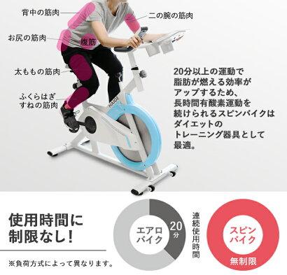 スピンバイク、フィットネスバイク、エクササイズバイク