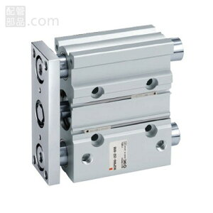 SMC:ガイド付薄形シリンダ 型式:MGPL20-100Z(1セット:10個入)