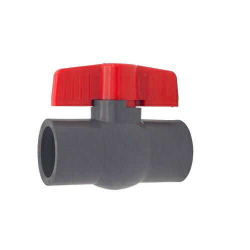 報商製作所:PVCボールバルブ ソケット式 型式:PVC20 ソケット式