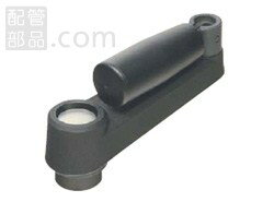 イマオコーポレーション:ボアード クランク ハンドル 精度穴、折り曲げ回転握り付き <BCH F> 型式:BCH100F
