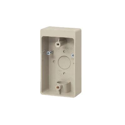 未来工業:露出スイッチボックス(防滴プレート用) 型式:PVR16-1LM