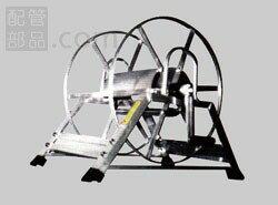 国内調達品:アルミ巻取機スタンダード(より戻し付) 型式:スタンダード150M型(Φ8.5×150m)