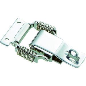 トラスコ中山:TRUSCO パッチン錠 鍵穴付バネタイプ ステンレス 2個入 P-31HSUS 型式:P-31HSUS(1セット:2個入)