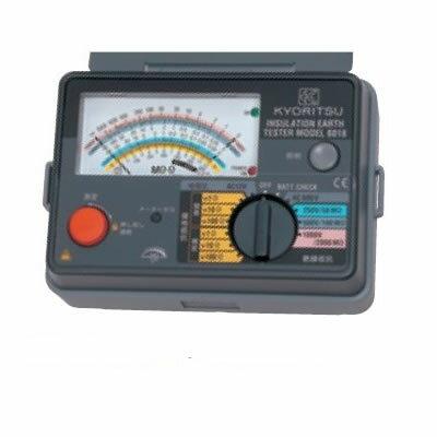 共立電気計器:キューメグアース 型式:MODEL 6018F