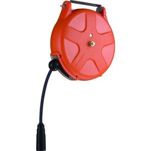 三協リール:TRIENS エアーホースリール(耐スパッタ)内径6.5mm×10m オレンジ SHS-310SA-OR 型式:SHS-310SA-OR