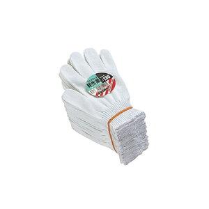 おたふく手袋:綿100%軍手 軽作業(10ゲージサラシ) 型式:JW-130