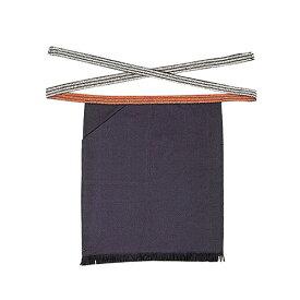 おたふく手袋:腰下 帆前掛け(紺)片ポケット付 型式:6206