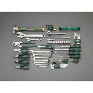 エスコ:[53個組] 工具セット 型式:EA52