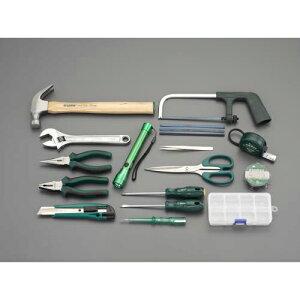 エスコ:[15個組] 工具セット 型式:EA689SB