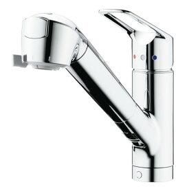 タカギ:シングルレバー混合栓(ワンホール型) 型式:JL307MN-9NL201