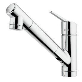 タカギ:シングルレバー混合栓(ワンホール型) 型式:JY297MN-9NTF01