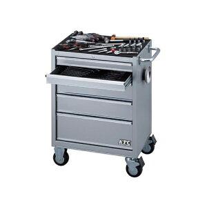 京都機械工具(KTC):SK3680RXS ローラーキャビネット採用工具セット(シルバー) 型式:SK3680RXS