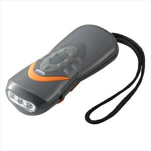 ヤザワコーポレーション:手回し充電ラジオライト 型式:BS801GY