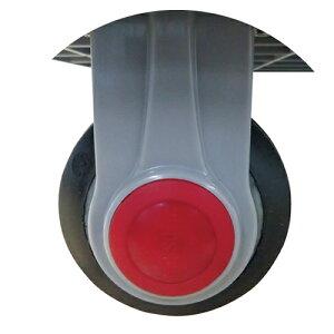 フローバル:ダブルベアリング樹脂台車用キャスター 150kg用固定 型式:PLA-F100