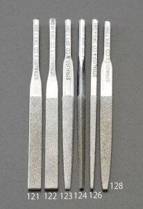 エスコ (ESCO) 3.6 x 85mm ダイヤモンド鑢(三角・ショート/#140) EA826VM-124