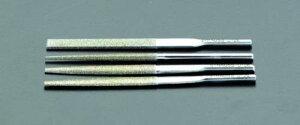 エスコ (ESCO) 4.7x2.3x85mm ダイヤモンド鑢(燕尾・ショート/#140) EA826VM-41