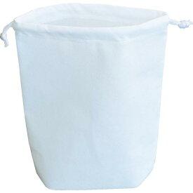 TRUSCO 不織布巾着袋 B5サイズ マチあり ホワイト 10枚入 HSB5-10-W ( HSB510W ) トラスコ中山(株)