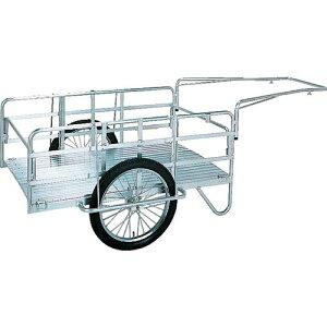 昭和 アルミ折畳みリヤカー 積載面(長さ×幅)900×600 空気入タイヤ S8-A1 ( S8A1 ) 昭和ブリッジ販売(株)