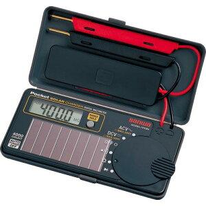 SANWA ソーラー充電ポケット型デジタルマルチメータ PS8A ( PS8A ) 三和電気計器(株)