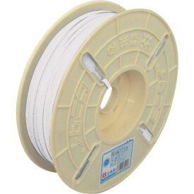ビニタイ ポリエチレン リール巻 4mm×500M 白 QCP-500-6 ( QCP5006 ) (株)共和