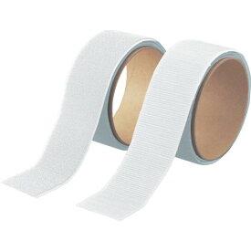 トラスコ(TRUSCO) マジックテープ[[R下]]セット強粘着幅50mm長さ1m白(1巻=1セット) TMSD-W ( TMSDW ) トラスコ中山(株)