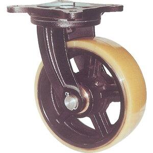 ヨドノ 鋳物重量用キャスター 許容荷重774.2 取付穴径15mm MUHA-MG200X75 ( MUHAMG200X75 ) (株)ヨドノ