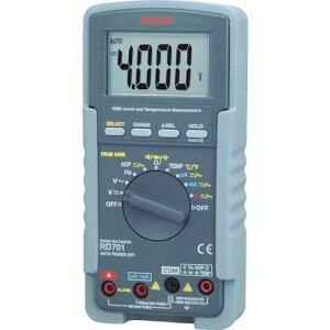 SANWA デジタルマルチメータ 真の実効値対応 RD701 ( RD701 ) 三和電気計器(株)