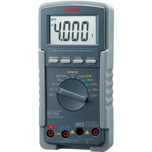SANWA デジタルマルチメータ RD700 ( RD700 ) 三和電気計器(株)