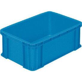 サンコー ボックス型コンテナー サンボックス#36ー2A ブルー SK-36-2A-BL ( SK362ABL ) 三甲(株)