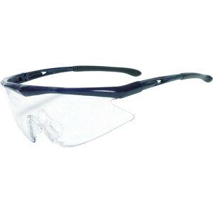 トラスコ(TRUSCO) 一眼型安全メガネ フレームブルー レンズクリア TSG-1856BL ( TSG1856BL ) トラスコ中山(株)