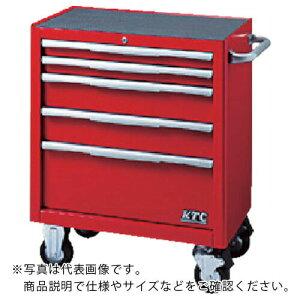 KTC ローラーキャビネット(5段5引出し)ブラック EKW-1005BK ( EKW1005BK ) 京都機械工具(株)