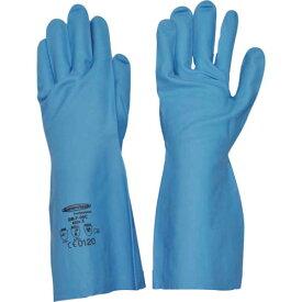 サミテック 耐油・耐溶剤手袋 サミテックGB−F−06 S ブルー 4490 ( 4490 ) (株)ダンロップホームプロダクツ
