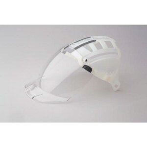 ミドリ安全 ヘルメット 交換用シールド面 SC−15PCLNS用 ( 4007100931 ) ミドリ安全(株)