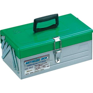 リングスター メタリックボックス MB−350グリーン/シルバー MB-350-GN/SR ( MB350GNSR ) (株)リングスター