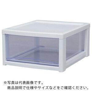IRIS 221246 スーパークリアチェスト ホワイト/クリアブルー 1段タイプ SCE-010-BL ( SCE010BL ) アイリスオーヤマ(株)