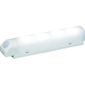IRIS 乾電池式LED屋内センサーライト ホワイト ウォールタイプ 昼白色 BSL40WN-W ( BSL40WNW ) アイリスオーヤマ(株) LED事業本部