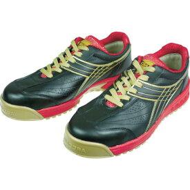 ディアドラ DIADORA 安全作業靴 ピーコック 黒 27.5cm PC22-275 ( PC22275 ) ドンケル(株)