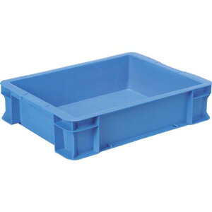 DIC DA型コンテナ ボックス型 外寸:W480×D360×H116 青 DA-14-2 B ( DA142 ) DICプラスチック(株) 容器資材営業部